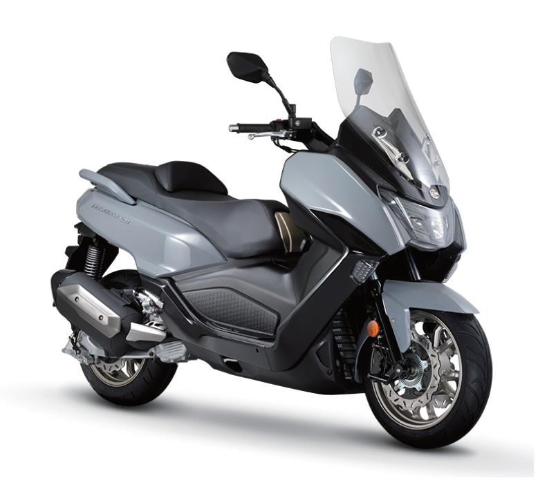 Обновлённый максискутер SYM MAXSYM 400 - EURO5