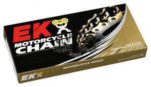 Цепь 520 MVXZ2-114/C EK CUT CHAIN W/SKJ CHROME